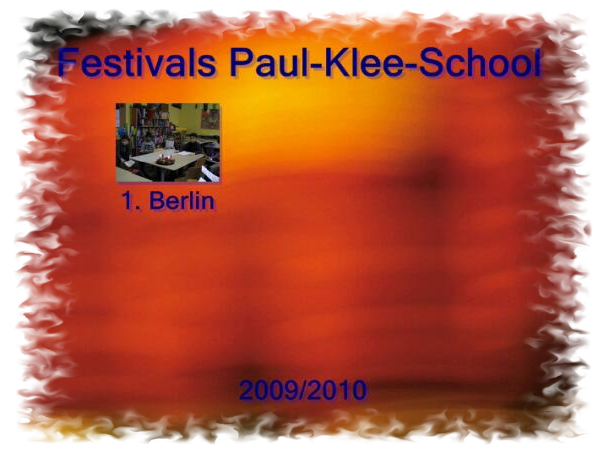 Festivals Paul-Klee-School